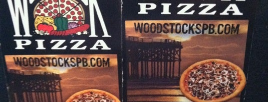 Woodstock's Pizza is one of San Diego.
