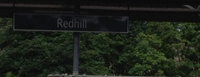 Redhill Railway Station (RDH) is one of You calling me a train spotter?.