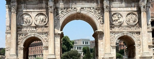 Arco di Costantino is one of Rome.
