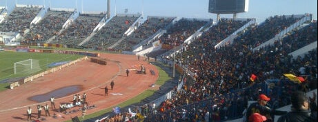 The Olympic Stadium El Menzah   Stade Olympique d'El Menzah   الملعب الأولمبي بالمنزه is one of Tunis  #4sqCities.