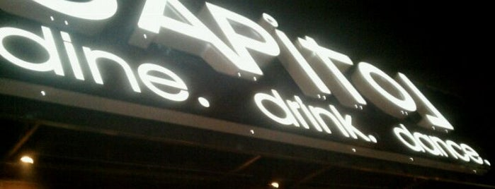 CAPiTOL Restaurant & Nightclub is one of eats.