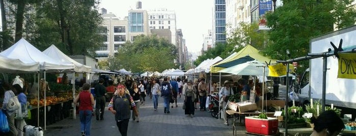 Union Square Greenmarket is one of Adult Camp!.