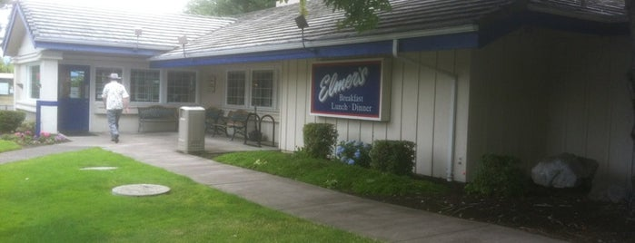 Elmer's Restaurant is one of Wi-Fi sync spots - Corvallis.