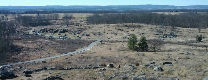 Little Round Top is one of Gettysburg Ghost Hunting.