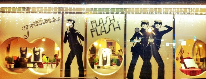 Flash Flash Tortillería is one of Restaurantes Bcn.