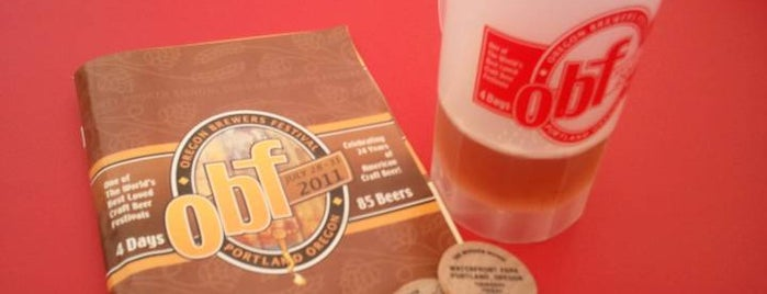 Oregon Brewers Festival is one of PDX Brew Pubs.