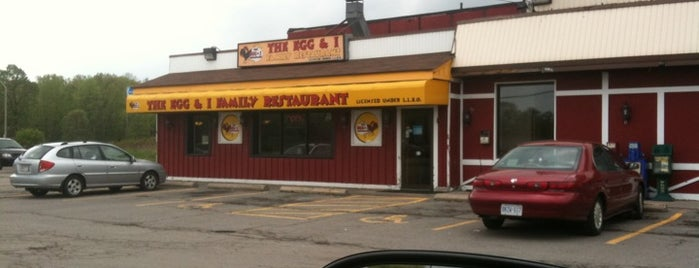 The Egg & I Family Restaurant is one of Orte, die Mike gefallen.