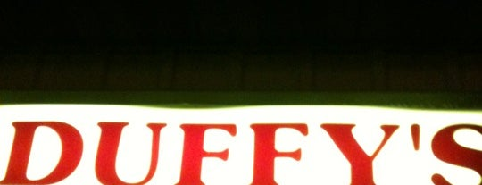 Duffy's Bar is one of things we need to do every time we're in watertown.