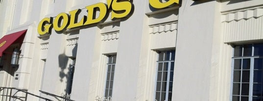Gold's Gym Hollywood is one of Edward : понравившиеся места.