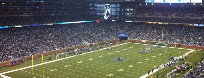 Ford Field is one of Great Sport Locations Across United States.