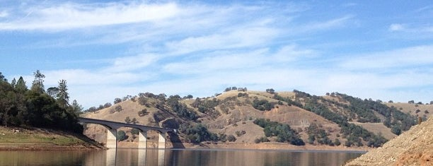 New Melones Lake is one of National Recreation Areas.