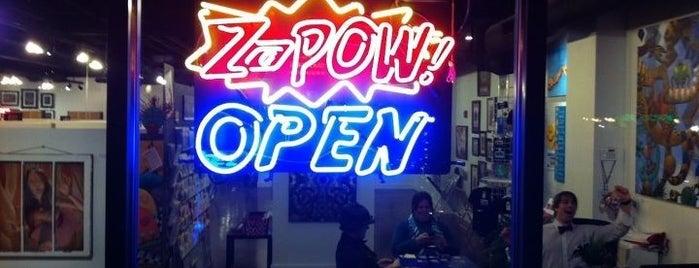 ZaPow! is one of Tempat yang Disimpan Brad.