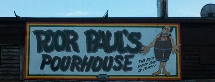 Poor Paul's Pourhouse is one of Tallahassee, FL #visitUS #tallahassee.