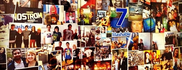 Mashable HQ is one of NYC Tech.
