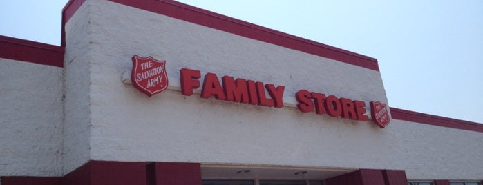The Salvation Army is one of Memphis Thrift Stores.