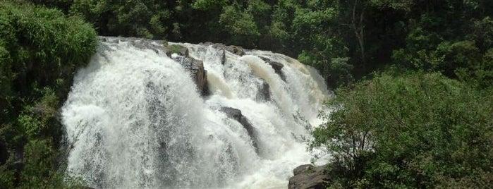 Cachoeira Véu das Noivas is one of Poços de Caldas - MG.