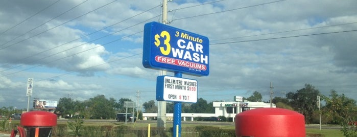 3 Minute $3  Car Wash is one of All-time favorites in United States.