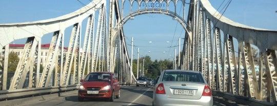 Староволжский мост is one of Тверь.