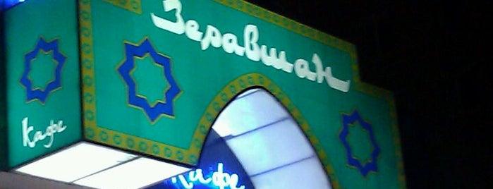 "Супермаркет ""Зеравшан"" is one of สถานที่ที่ Alex ถูกใจ."
