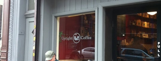 Upright Coffee is one of NY Espresso.