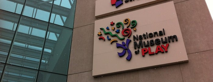 Strong National Museum of Play is one of NYC-Toronto 2018.