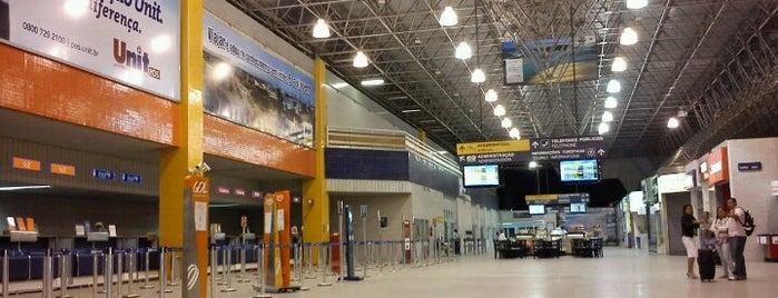 산타마리아 공항 (AJU) is one of Aeroportos.