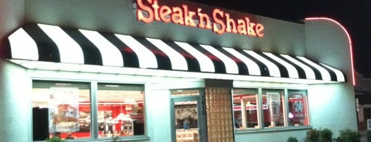 Steak 'n Shake is one of Chrisさんのお気に入りスポット.