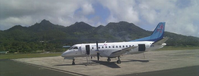 Rarotonga International Airport (RAR) is one of Airports - worldwide.