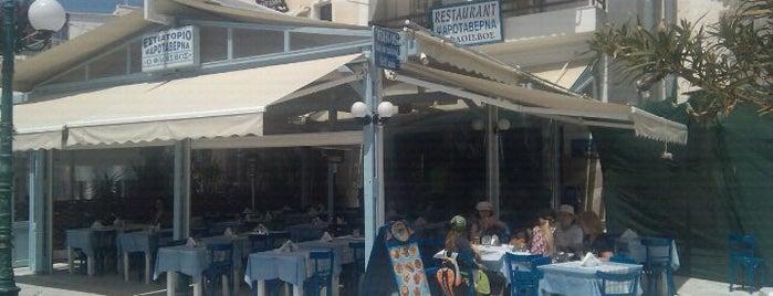 Flisvos is one of สถานที่ที่บันทึกไว้ของ Lazaros.
