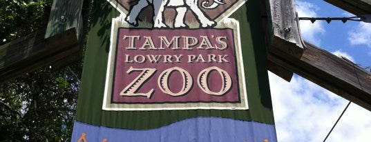 Tampa's Lowry Park Zoo is one of Untuck Thyself.