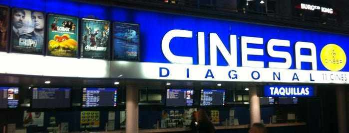 Cinesa Diagonal 3D is one of Barcelona.