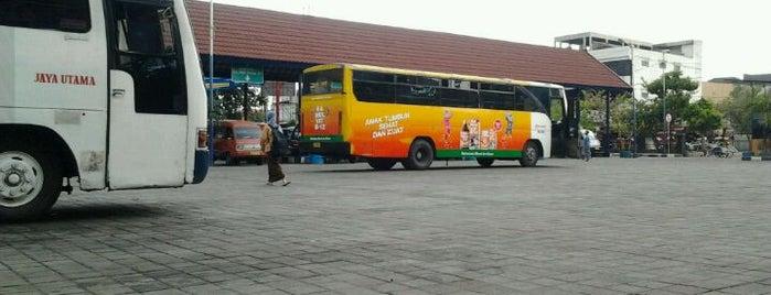 Terminal Bratang is one of Characteristic of Surabaya.