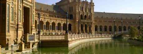 Plaza de España is one of Escenarios de película en Sevilla | Film locations.