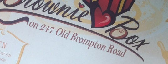Brownie Box is one of London's Cupcakeries.