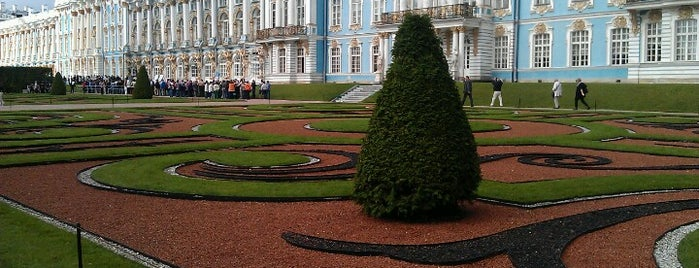 Tsarskoye Selo Museum-Preserve is one of Ancient manors of Russia.
