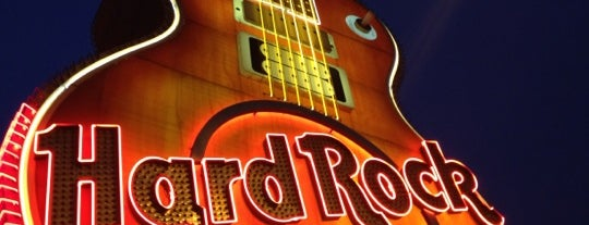 Hard Rock Cafe Las Vegas at Hard Rock Hotel is one of Restaurants.