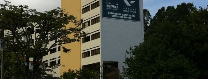 SOCIESC / FGV is one of Orte, die Pedro gefallen.