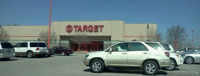 Target is one of Jared's Liked Places.
