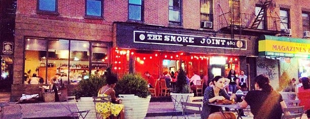 The Smoke Joint is one of Fort Greene+Clinton Hill+Bed-Stuy.