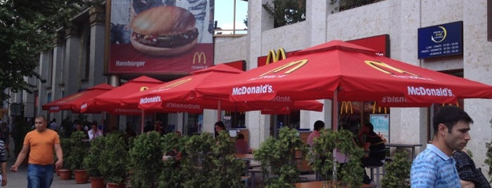McDonald's is one of Restaurante în Chișinău (partea 1).