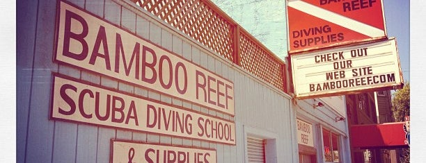 Bamboo Reef Scuba Diving Centers is one of Lieux qui ont plu à Ed.