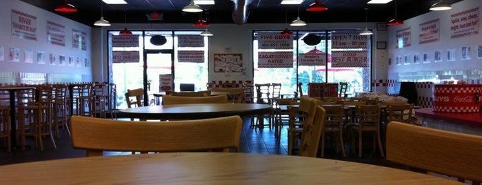 Five Guys is one of Food Atlanta.