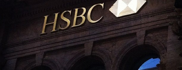 HSBC is one of LUGARES VISITADOS.