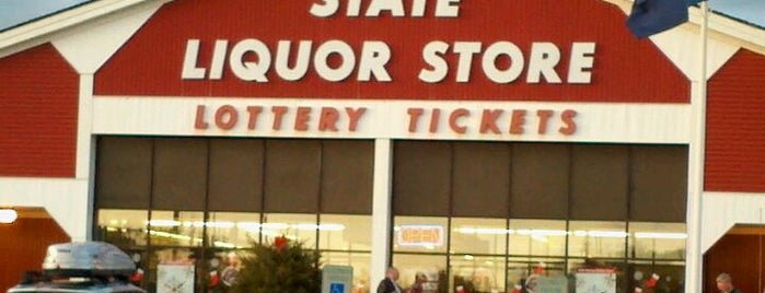 NH Liquor Store 66 (I-93 Northbound) is one of NE road trip.
