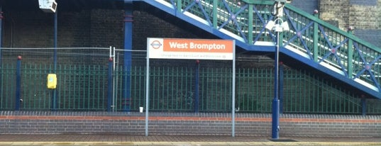 West Brompton London Underground and London Overground Station is one of Underground Stations in London.