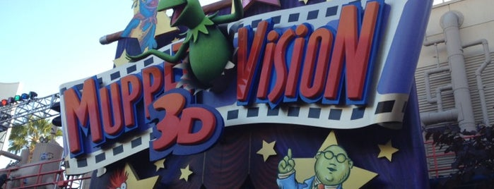 Muppet*Vision 3D is one of a very strange and delightful day in disneyland.
