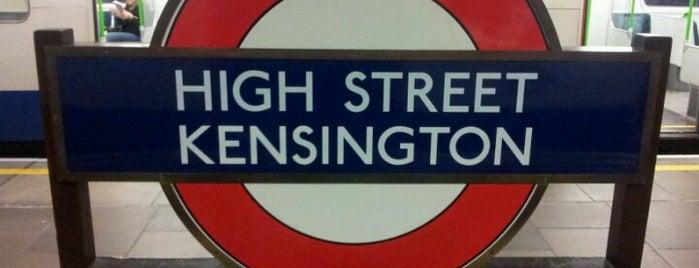 High Street Kensington London Underground Station is one of Underground Stations in London.