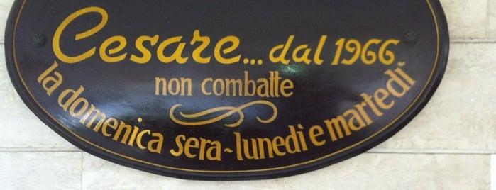 Trattoria Da Cesare is one of Osterie senza Insegne.