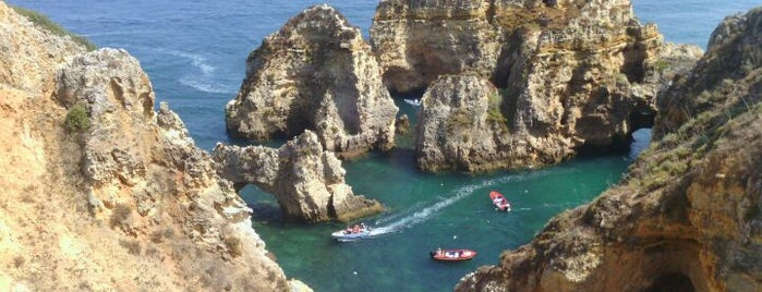 Ponta da Piedade is one of Faros.