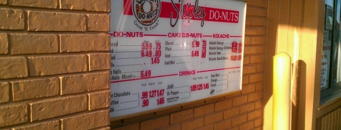 Shipley Do-Nuts is one of Tellie's Liked Places.